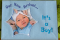 Create & Stitch 3: Picture Appliqué Baby Announcement